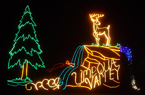 Umpqua Valley Light Display